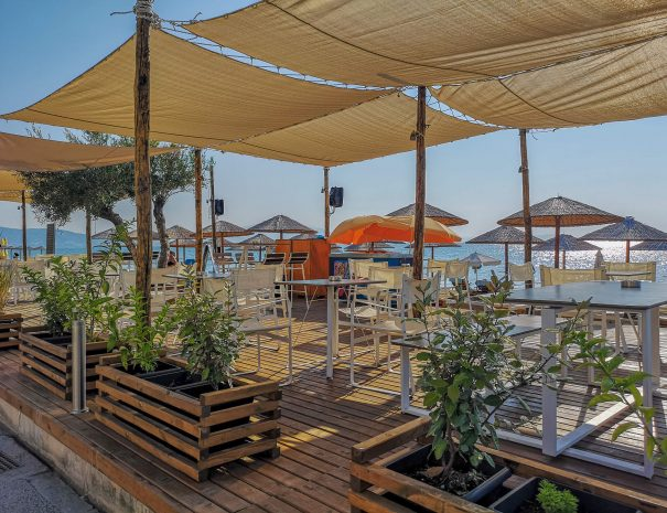 Afrodite Rooms Organized Beach Paralia Vrasna