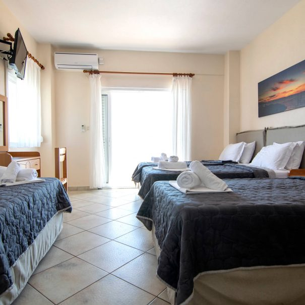 Afrodite Rooms Paralia Vrasna sea view